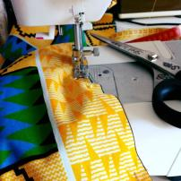The making of an african dress